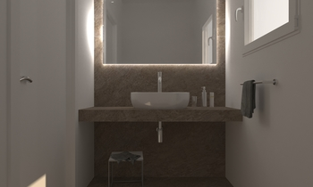 207 Contemporary Bathroom LONGO SRL Superfici & Arredo