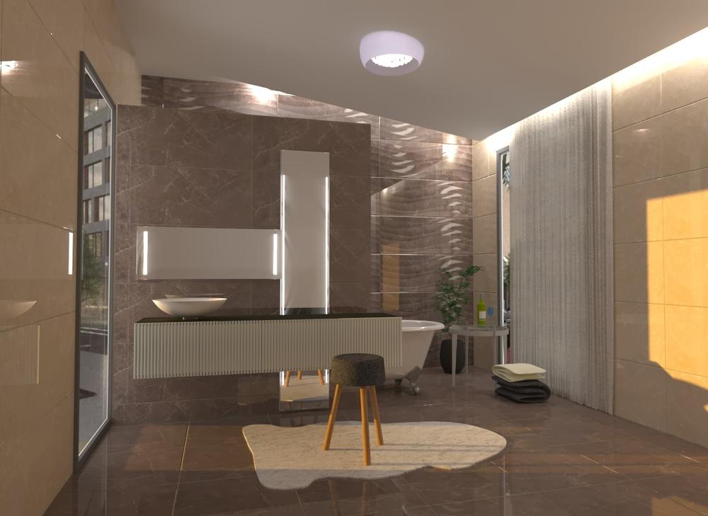 standera 5 Classic Bathroom Donart Sahiti