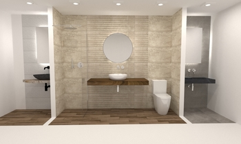 MAGAZI KOULOURIS Classic Bathroom Christos Alexopoulos