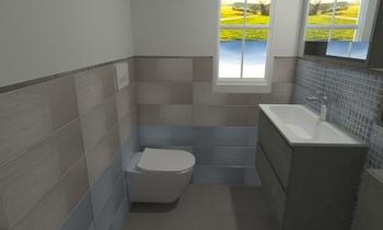 Bissa 2 Moderne Salle de bain Martina Giovanniello GM Ceramiche
