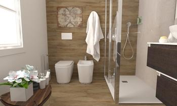 Poject Tuscania Noce Klasický Koupelna EDILVETTA Professionisti dell'abitare