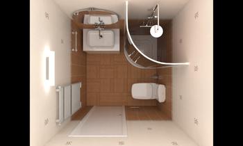 Small bathroom Klasszikus Fürdőszoba Игорь Курылко