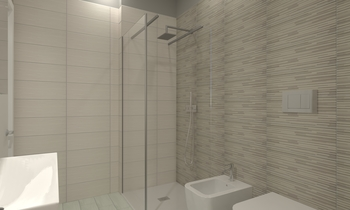 Badia & Tognarini App 12 ... Contemporary Bathroom  AmbienteBagno  Antichi
