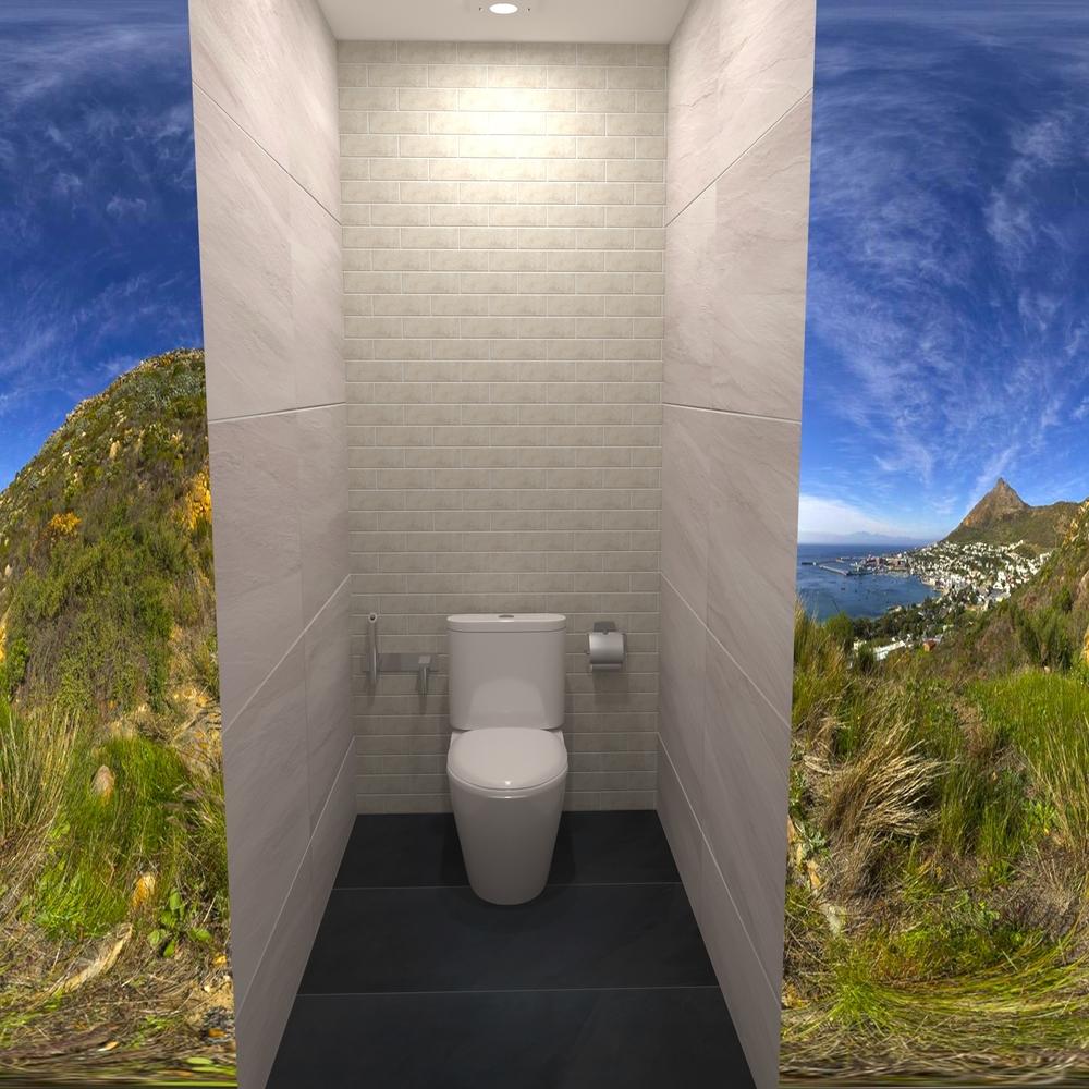 Outstanding Toilet Golf Resort Tilelook Evergreenethics Interior Chair Design Evergreenethicsorg