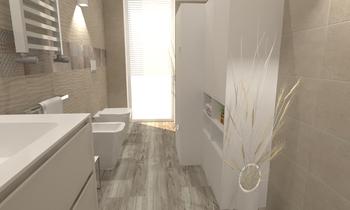 MARAZZI CAST 25X38 , LAVA... Modern Bathroom Ceramiche Masala sas