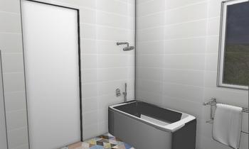 kids bathroom Classique Salle de bain moran leibovich
