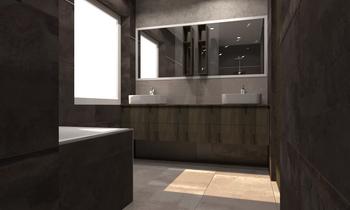 Bekhuys Modern Fürdőszoba Céline Burton
