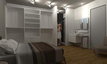 suite 69 Modern Hálószoba Lo Presti casa arredo