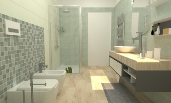 Bagno zn Modern Bathroom Francesco Piovan