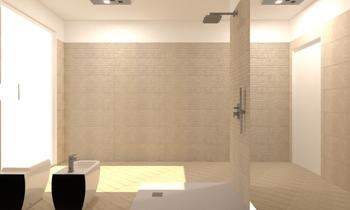 BAGNO GRANDE Modern Bathroom Lo Presti casa arredo