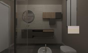 carraro bagno piccolo Moderno Baño Giampaolo Mosciatti
