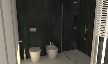 237 Contemporary Bathroom LONGO SRL Superfici & Arredo