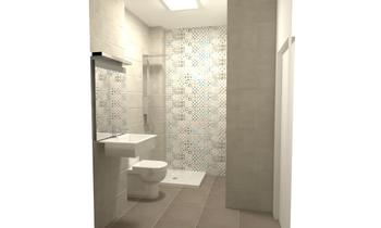 BAÑO PPAL opc 2 Současný Koupelna ALEJANDRO vazquez