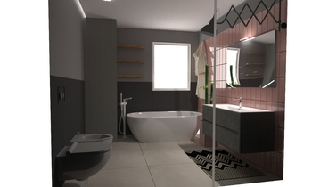 Cariglio Contemporary Bathroom D M s.r.l.