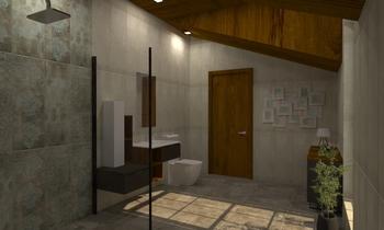 Project Atelier Liliya St... Moderní Koupelna Vesela Neshkova