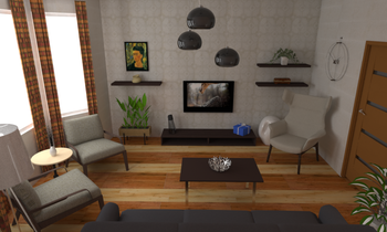 Family room Contemporaneo Living Игорь Курылко
