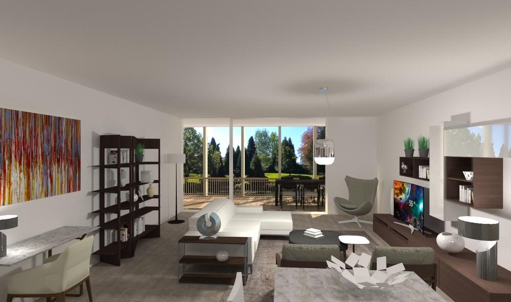 Water Garden 2 Classic Living room Lee Dallow