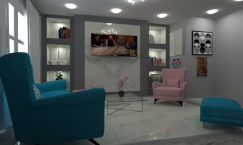 new rooom Moderne Salon EGYPTIAN HOME
