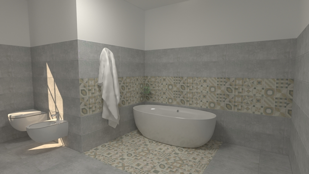 Project bagno Lupin Moderno Bagno EDILVETTA Professionisti dell'abitare