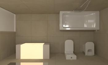 BAÑO PLANTA ALTA Classic Bathroom Emilio López