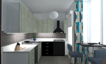 Project #5 Modern Kitchen Ramez  Saad