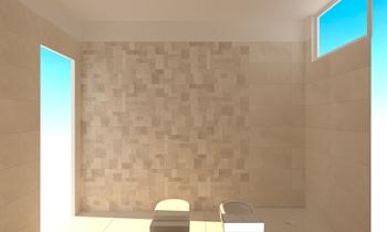 light Classic Bathroom CATERINA GRILLONE