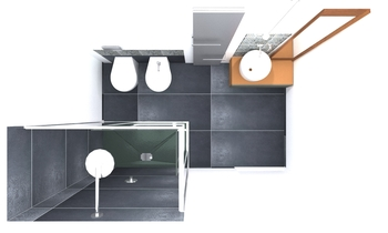 bagno doccia Classique Salle de bain CIS srl