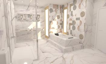 baño 8 Moderno Baño BdB  SUMABE