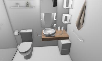 Proyecto baño Gama Baja Classic Bathroom Juan Antonio Méndez Moreno