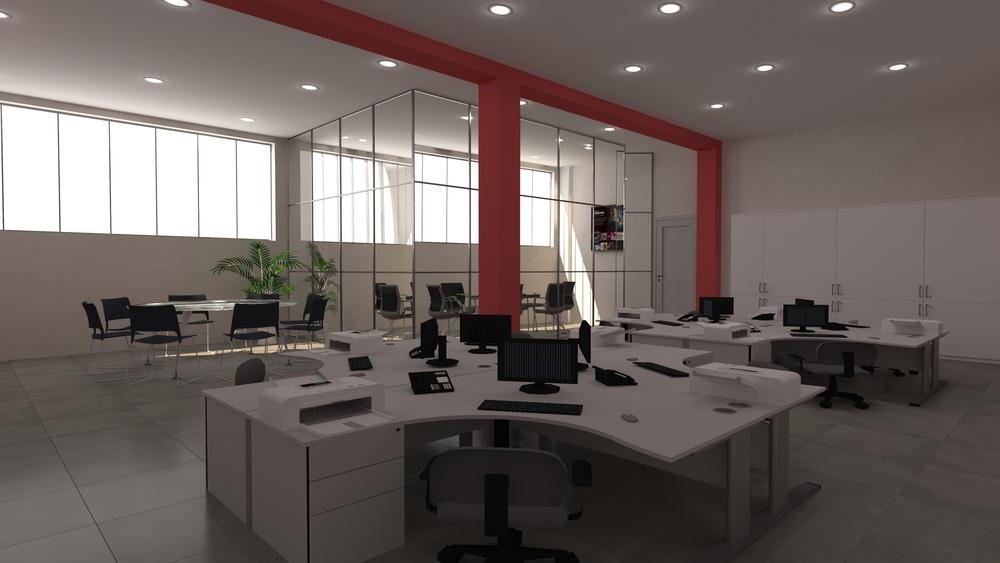 Ufficio Open Space Tilelook