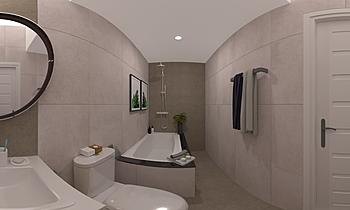 B1 Moderní Koupelna Chodok Muangin /Boonthavorn  ( Chiang Mai)