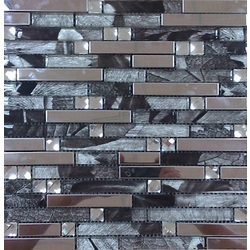 MOSAICO HOLZ SILVER (GM-721) 30X32 CM. 30x30 cm Boonthavorn Ceramic Art Of Mosaic
