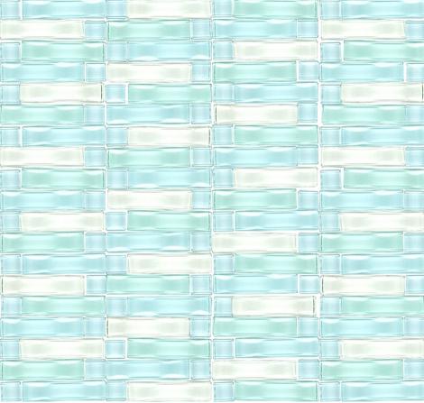 โมเสคแก ว Gl 144 Blue Wavy 12x12 A