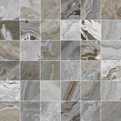 Canyon Grey mosaic  30x30 cm Land Porcelanico Canyon