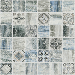 Florence Light Blue 30x30 30x30 cm Boxer Mosaics Marble