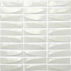 Velvet Bianco 30x31,8 31.8x30 cm Boxer Mosaics Glass