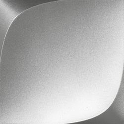 Wave Metal Argento  12,5x12,5 12.5x12.5 cm Boxer Mosaics Idee