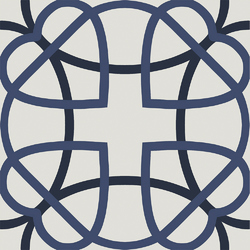 Cementina Retrò Blue 20x20 20x20 cm Boxer Mosaics Idee