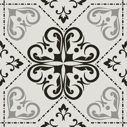Cementina Retrò Greige 20x20 20x20 cm Boxer Mosaics Idee