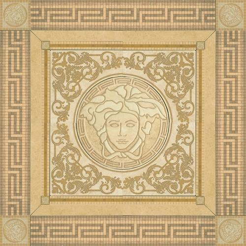 Rosoni Oro Versace Ceramics Vanitas Itile It
