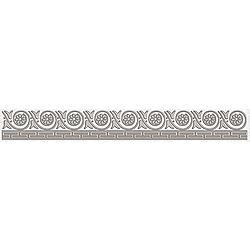 бордюр Afina серый 5x40 40x5 cm Laparet Afina