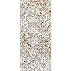 DECORO VENTAGLI GREY GRAFITE SOFT 120X270 120x270 cm Ariana Nobile