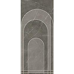 DECORO ARCHI A GREY GRAFITE SOFT 120X270 120x270 cm Ariana Nobile