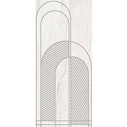 DECORO ARCHI B GREY GRAFITE SOFT 120X270 120x270 cm Ariana Nobile