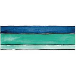 STRIPES SEA MIX 60x20 cm Imola Ceramica Shades