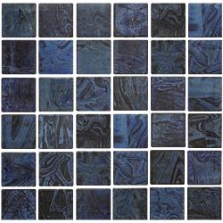 MOS FLORENTINO v50 30*30 AZUL 30x30 cm DECORCERAMICA Mosaico