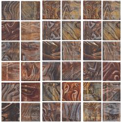 MOS EMPERADOR  v50 30*30 CAFE 30x30 cm DECORCERAMICA Mosaico