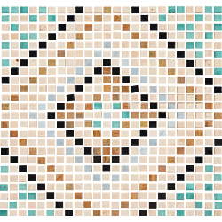 MOS DUOMO 30*30 MULTIC 30x30 cm DECORCERAMICA Mosaico