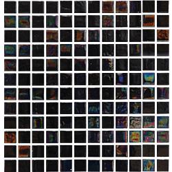 MOS OBSIDIAN v25 30*30 NEGRO 30x30 cm DECORCERAMICA Mosaico