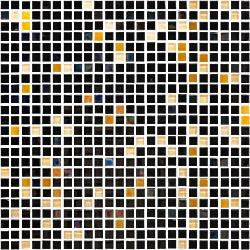 MOS UNIQUE 30*30 NEGRO 30x30 cm DECORCERAMICA Mosaico